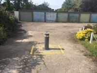 Secure lock-up garage to let with electric bollard access, 5 minutes from East Finchley Tube