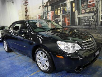 2008 Chrysler Sebring JS Limited Black 6 Speed Auto Sports Mode Convertible Marrickville Marrickville Area Preview
