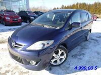 2008 Mazda 5 **GT** A/C CRUISE  6 PASSAGERS!! ULTRA ECONOMIQUE!