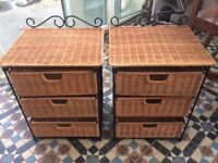 Matching bedside tables REDUCED AS NEED GONE ASAP