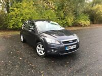 2007 FORD FOCUS 1.6 ZETEC GREY PETROL 65,000 MILES MOT ONE YEAR GREAT CAR MUST SEE £3250 OLDMELDRUM