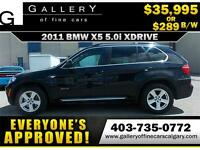 2011 BMW X5 XDrive50i $289 bi-weekly APPLY NOW DRIVE NOW