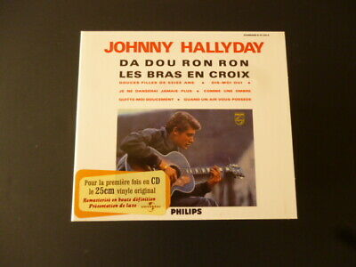 CD JOHNNY HALLYDAY - HAUTE FIDELITE MONORALE - PHILIPS - TTB ETAT