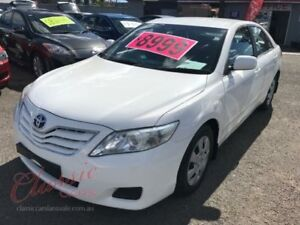 2010 Toyota Camry ACV40R 09 Upgrade Altise White 5 Speed Automatic Sedan Lansvale Liverpool Area Preview