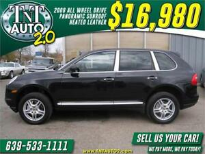"2008 Porsche Cayenne S 4X4-SUNROOF-HEATED LEATHER-18"" WHEELS!"