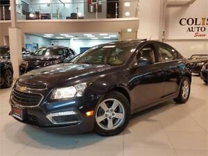 2015 Chevrolet Cruze 2LT-AUTO-NAVIGATION-CAM-LEATHER-SUNROOF-ONL