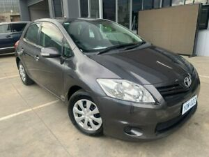 2011 Toyota Corolla ZRE152R MY11 Ascent Grey 6 Speed Manual Hatchback Fyshwick South Canberra Preview
