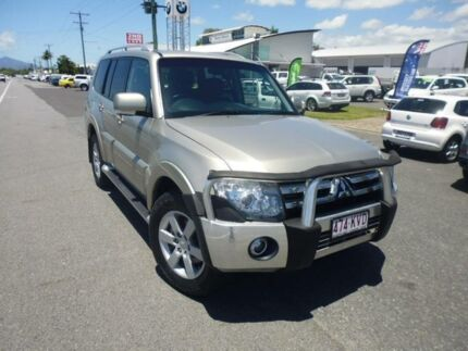 2008 Mitsubishi Pajero NS VR-X LWB (4x4) Gold 5 Speed Auto Sports Mode Wagon Bungalow Cairns City Preview
