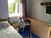 Single room in semidetatched house. Non smoking.