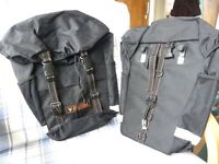 Cycling/bike panniers-almost NEW - REDUCED