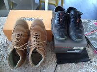 TOD'S AND PRADA SHOES FOR MEN (USED) SZ US 8/9