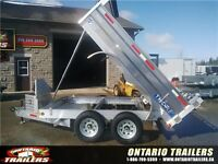 Canadian Built Aluminum Dump Trailers (Order yours today!)