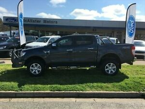 2014 Ford Ranger PX XLT 3.2 (4x4) Metropolitan Grey 6 Speed Manual Dual Cab Utility Young Young Area Preview