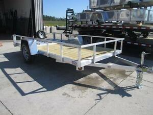 Low priced aluminum trailers - 2017 Qaulity 5 x 10 utility trail London Ontario image 3