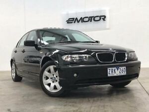 2004 BMW 318I E46 Sapphire Black Sports Automatic Sedan Williamstown North Hobsons Bay Area Preview