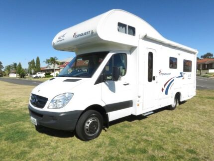 Jayco Conquest – SINGLE BEDS – V6 MERCEDES