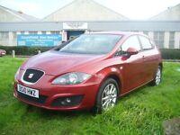 Seat Leon 2.0 TDI SE 5dr (red) 2010