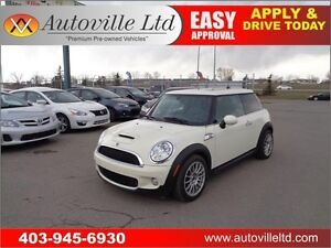 2007 MINI COOPER S 172HP LEATHER ROOF 2 SETS OF RIMS & TIRES