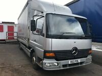 Atego 817 ... Sleeper cab, air suspension, new mot.