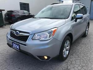 2014 Subaru Forester 2.5i Touring Pkg. LEATHER/RANORAMIC ROOF...