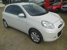 2011 Nissan Micra K13 TI White 5 Speed Manual Hatchback Kippa-ring Redcliffe Area Preview