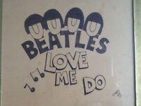 Beatles love me do framed wall art