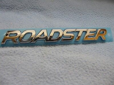 Mazda Miata Roadster New Model Chrome Emblem MX-5 JDM