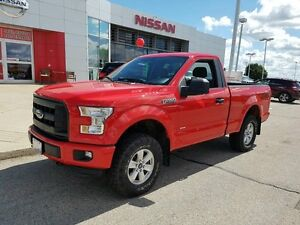 2016 Ford F-150 XL 4x4 Regular Cab Styleside 6.5 ft. box 122 in.