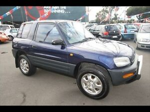 1994 Toyota RAV4 (4x4) (4x4) Blue 4 Speed Automatic 4x4 Hardtop Kingsville Maribyrnong Area Preview