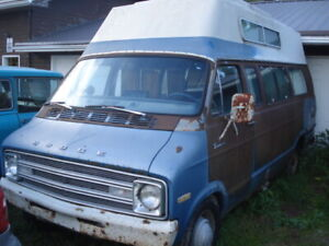 1976 Dodge B300 Tradesman camper van