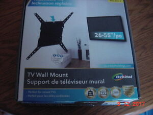 "26"" to 55"" tv wall mount"