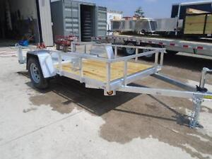 Low priced aluminum trailers - 2017 Qaulity 5 x 10 utility trail London Ontario image 5