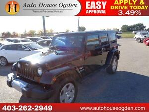 2011 Jeep Wrangler Unlimited Sahara 90 DAYS NO PAYMENTS