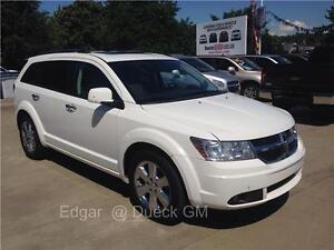 2009 DODGE JOURNEY R/T white leather just 75.000 km seats 7 peop