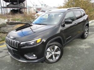 2019 JEEP CHEROKEE Limited V6 (PANO ROOF, HEATED/COOLED LEATHER,
