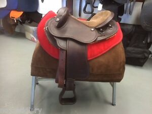 Syd Hill Leather Half Breed Saddle 17