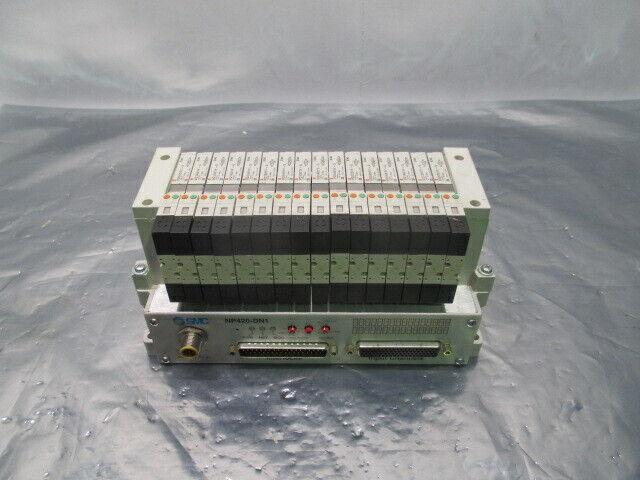SMC VV5Q11-ULB000047, 16 Valve Pneumatic Manifold w/ NP420-DN1, 407609