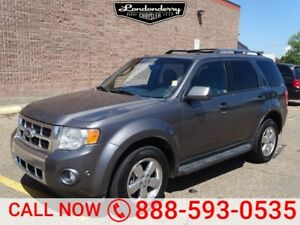 2012 Ford Escape 4WD LIMITED Navigation (GPS),  Leather,  Heated