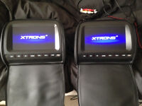 Xtrons HD905 headrest dvd players