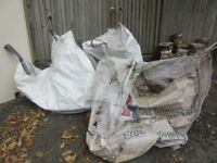 Free bags of Rubble, Hardcore Bricks x3 plus come loose