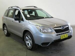 2015 Subaru Forester MY14 2.5I Silver Continuous Variable Wagon Westdale Tamworth City Preview