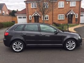 AUDI A3 2.0 TDI SPORTS, S TRONIC AUTO GEARBOX, 2010, FULL HISTORY, CAMBELT REPLACED £4995