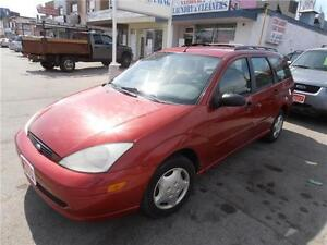 2001 Ford Focus Hatchback SE Auto Red ONLY 173,000km