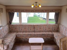 Cheap static caravan, stunning seaside resort, 3 bed, near beach, onsite fishing lake