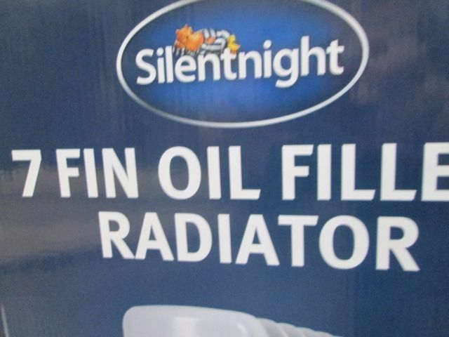 *BRAND NEW BOXED*SILENTNIGHT 1.5 KW 7 FIN OIL FILLED RADIATOR HEATER*