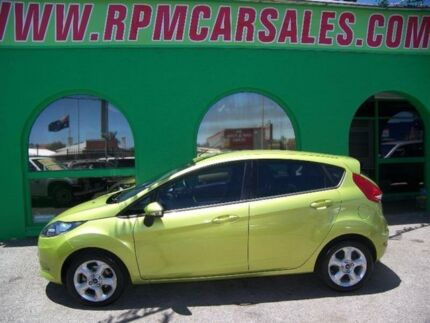 2010 Ford Fiesta WS CL Green 5 Speed Manual Hatchback