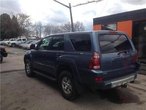 2004 Toyota 4Runner SR5 4X4*******6 CYLINDER*******FULLY LOADED London Ontario image 3