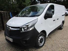 2014 Vauxhall Vivaro 1.6CDTi 115PS L1H1 NO VAT 65000 MILES GUARANTEED