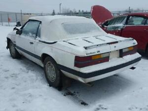 parting out 1986 ford   5.0L mustang lx convertible