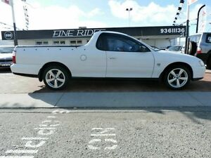 2003 Holden Ute VY White 4 Speed Automatic Utility Victoria Park Victoria Park Area Preview